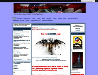 venturacountyteaparty.ning.com screenshot