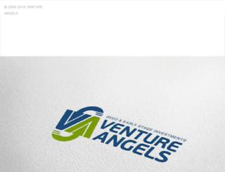 ventureangels.com screenshot