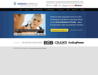 venturemarketing.com screenshot