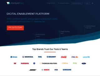 venturepact.com screenshot