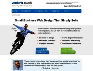 venturi-web-design.com screenshot