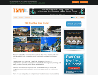 venuedirectory.tsnn.com screenshot