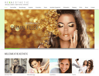 venus-rx.com screenshot