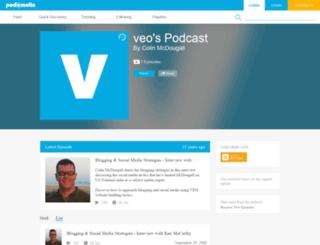 veo.podomatic.com screenshot