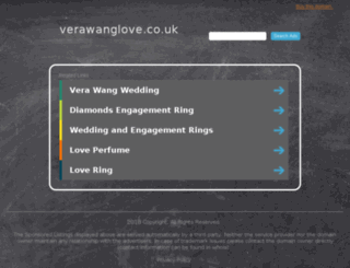 verawanglove.co.uk screenshot