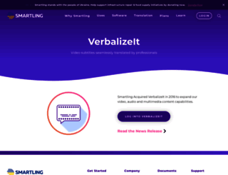 verbalizeit.com screenshot
