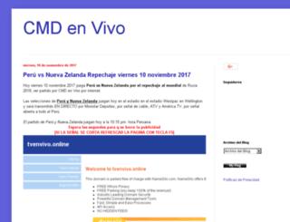 vercmdenvivo.com screenshot