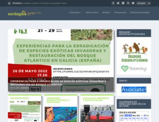 verdegaia.org screenshot
