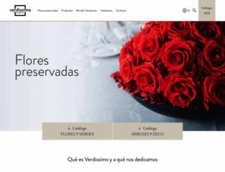 verdissimo.com screenshot