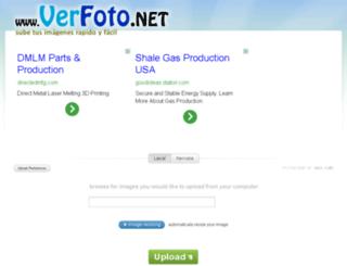 verfoto.net screenshot