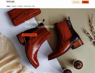 verhulstshoes.nl screenshot