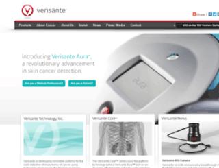 verisante.com screenshot