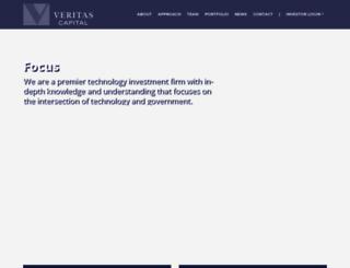 veritascapital.com screenshot