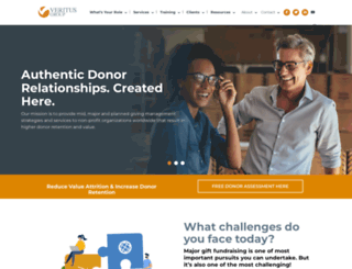 veritusgroup.com screenshot