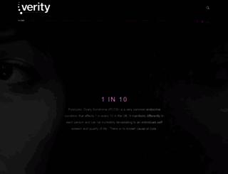 verity-pcos.org.uk screenshot