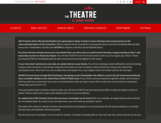 verizontheatre.com screenshot