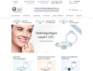 verlovingsringen.nl screenshot