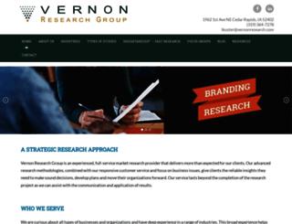 vernonresearch.com screenshot