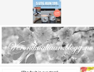 veronikaaliaan.blogg.no screenshot