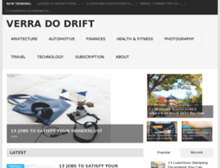 verradodrift.com screenshot