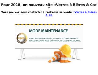 verres-a-bieres-and-co.fr screenshot