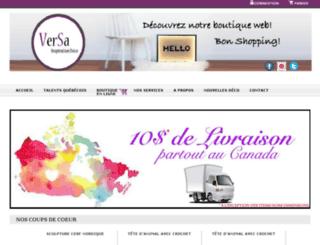 versadeco.com screenshot