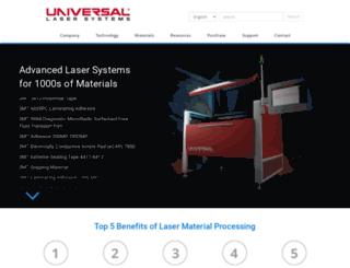versalaser.com screenshot