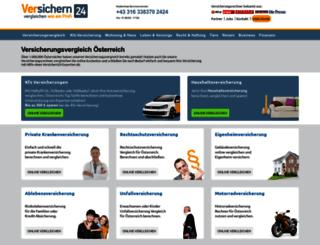 versichern24.at screenshot