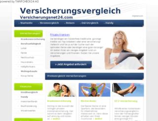 versicherungsnet24.com screenshot