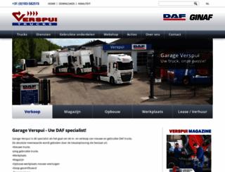 verspui.nl screenshot