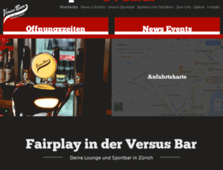 versus-bar.ch screenshot
