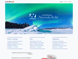 vertaalbureau-noorderlicht.nl screenshot