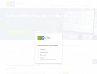 vertec.com screenshot