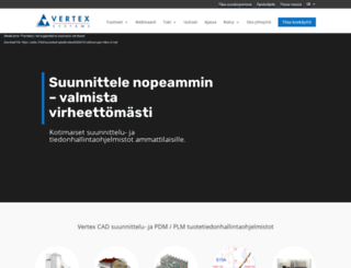 vertex.fi screenshot