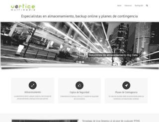 vertice.net screenshot