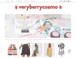veryberrycosmo.co.uk screenshot