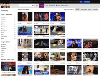 veryfunnyvideo.net screenshot