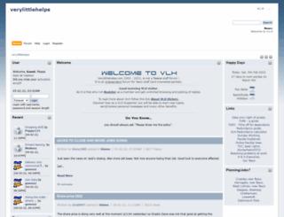 verylittlehelps.com screenshot