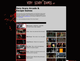 veryscarygames.net screenshot