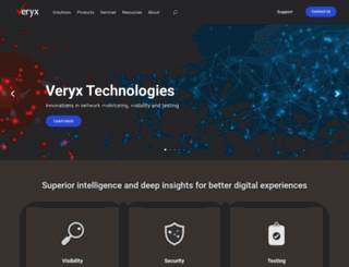 veryxtech.com screenshot