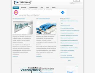 verzeichnis-hoch2.de screenshot