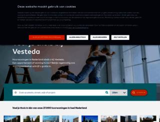 vesteda.com screenshot