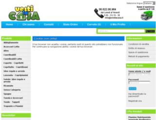 vestilacasa.it screenshot