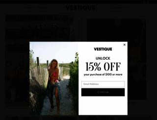 vestique.com screenshot