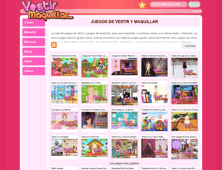 vestirymaquillar.net screenshot