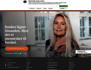 vestjyskbank.dk screenshot