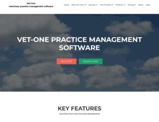 vet-one.com screenshot