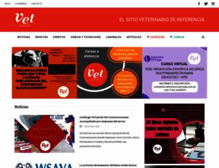 vetcomunicaciones.com.ar screenshot