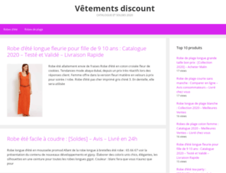 vetementsdiscount.fr screenshot