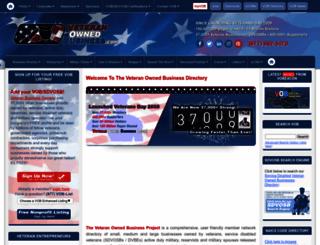 veteranownedbusiness.com screenshot